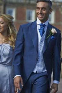 Blue Tail Suit Hire Leicester