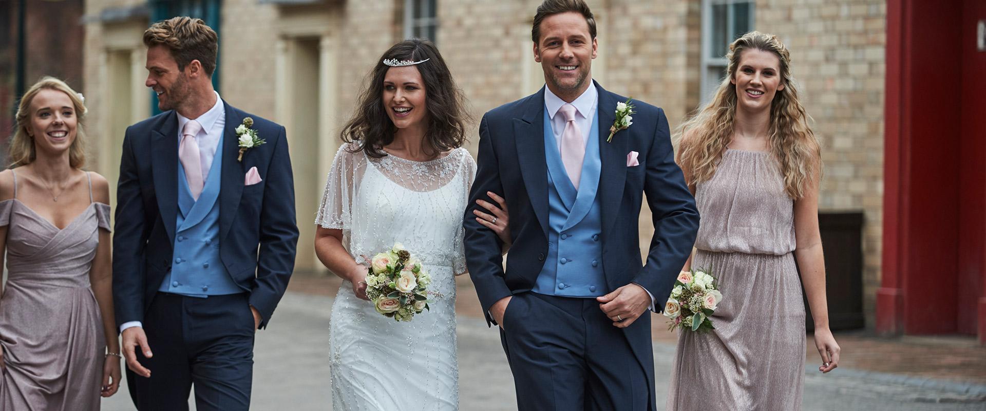 Tailcoat Wedding Suit Hire